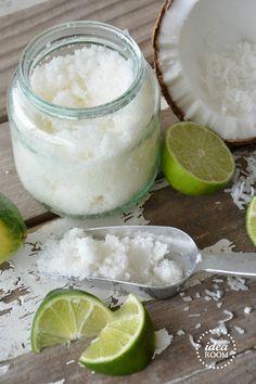 Coconut Lime Sugar Scrub - exfoliante casero