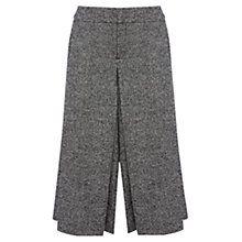 Buy Karen Millen Tweed Culottes, Black/White Online at johnlewis.com