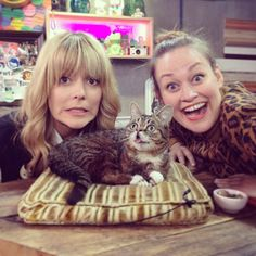 Lil'Bub, Daily Grace and Mamrie Hart?!?!?!?!?!?!? This is amazing!!!!!!!!!!!!!!!!!!!!!!!!!!!!!!!!!!!! Photo by jackferry