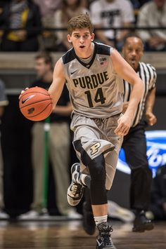 Ryan Cline, Purdue Men's Basketball Freshman dribbles the ball Purdue Basketball, Purdue University, Boiler, Freshman, Groomsmen, Nike, Sports, Wedding, Hs Sports
