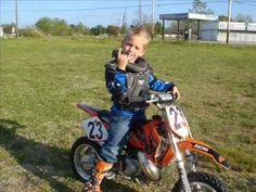 Motocross Kid - Jumping, Crashing, and Racing