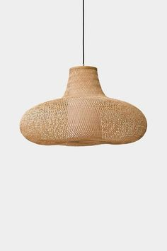 May – Natural – Ay illuminate Pendant Chandelier, Pendant Light Fixtures, Pendant Lighting, Ay Illuminate, Honeycomb Shape, Suspended Lighting, Beach Lighting, Organic Shapes, House And Home Magazine