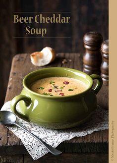 Beer Cheddar Soup