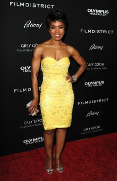 """Angela Bassett arriving at the """"Olympus Has Fallen"""" Los Angeles premiere held at the ArcLight Theatre in Hollywood, California - March 18, 2013 - Photo: Runway Manhattan/AFF"""