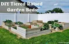 DIY Raised Garden Boxes