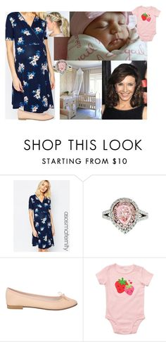 """Introducing Cordelia to Adelaide"" by duchess-rebecca ❤ liked on Polyvore featuring ASOS, Diana M. Jewels, Repetto and Carter's"
