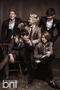NU'EST - bnt International December 2013