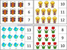 spring count and clip cards                                                                                                                                                                                 Más