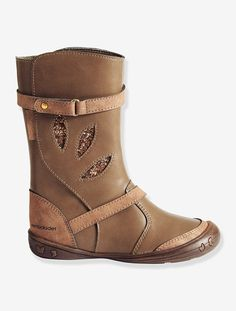 Girls Boots Taupe