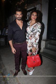 Karan Singh Grover & Bipasha Basu Snapped outside 'Korner House'