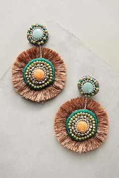 #AnthroFave. Love these earrings.