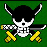 Zoro Animated Jolly Roger by Z-studios