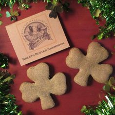 Shamrock dog treats! Need I say more?