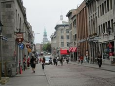 Montreal, Canada (Old City). Beautiful city... I had been there twice and can't wait to go back!
