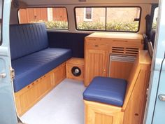 Vw camper interior by all things timber