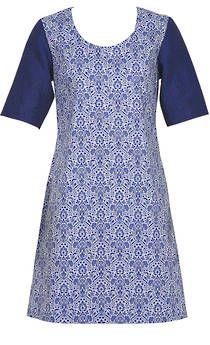 China Blue Dress