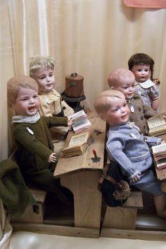 SFBJ Character children at the Paris Doll Museum