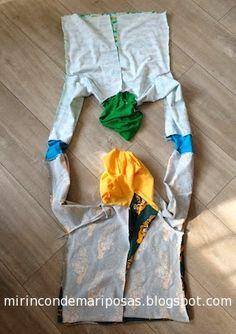 mi rincón de mariposas: Cómo coser una chaqueta reversible