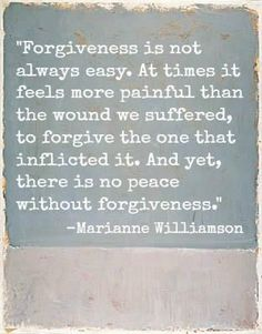 Forgiveness is easy IF you don't over think! Make it easy on yourself and just let it go.
