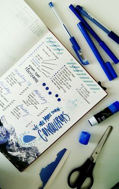 blue: depth, loyalty, wisdom, trust, intelligence | we are more than conquerors.