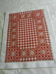 Flossie Cass's media content and analytics Swedish Embroidery, Hardanger Embroidery, Cross Stitch Embroidery, Cross Stitch Patterns, Chicken Scratch Patterns, Chicken Scratch Embroidery, Stitching Leather, Cross Stitching, Christmas Towels