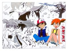 Ash and Misty ^.^ ♡