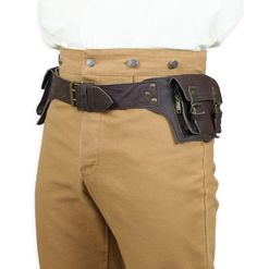 Rover Utility Belt - Chocolate Brown Leather if I wore this out clubbing etc., wouldn't need hands for purse...