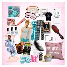 """Sleepover starter pack"" by cutiecrys on Polyvore"