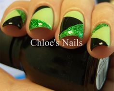 Chloe's Nails: St. Patty Patchwork