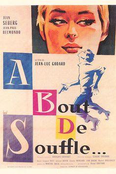 A bout de souffle, de Jean-Luc Godard (1960)