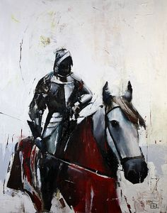 Knight of Swords  by Ivan F. Grianti #horse