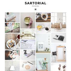 Blogger Template: Sartorial