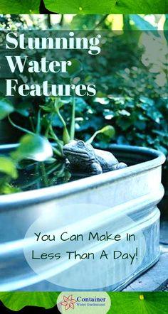Make Lightweight Garden Art Projects That Last With Hypertufa – Container Water Gardens Bali Garden, Balinese Garden, Garden Art, Garden Design, Garden Deco, Landscape Design, Container Pond, Container Water Gardens, Container Gardening