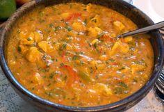 Brazilian Main Courses - Chicken Bobó (Brazilian Chicken Stew)