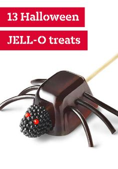 13 Halloween JELL-O Treats – When it comes to Halloween food and party ideas, nothing can beat JELL-O for its delicious versatility? Tucked amongst flag cakes and Yule logs, you'll find Halloween desserts that range from cute-spooky to ghoulishly scary! Plus, we've also got ideas for kids-friendly parties as well.