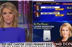 Coulter, Ingraham Praise Dave Brat Win: This Just Sent A 'Massive Wakeup Call' To GOP....6/11>>>