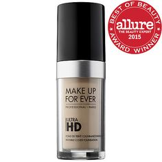 "Make Up Forever Ultra HD Invisible Cover Foundation in ""Y235-Ivory Beige"". Retail $43. New in box. SELL PRICE: $22."
