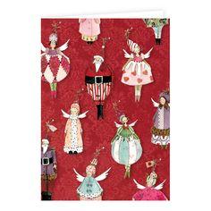 Weihnachts - Doppelkarte Silke Leffler / KLK 15640