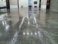 Credit: N.C. Cement--Renovated floor at House of Art in Detroit
