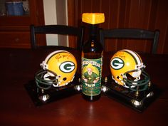 Green Bay Packer Wine...I got a bottle of this from staff for Christmas! Apparently this company is going out of business, so this will be a collectors item...
