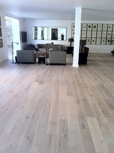 Interior,Fabulous Midcentury Living Sets With Square Mirror In White Open Living Added White Oak Flooring As Interior Rustic Flooring Inspirations Decors Furniture Ideas,Creating A Rustic Atmosphere Inside Your House with The Rustic Flooring Inspirations