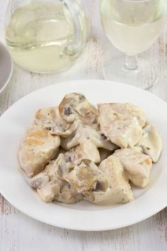 Crock Pot Chicken Stroganoff (Weight Watchers)