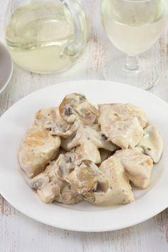 Weight Watchers Chicken Stroganoff Recipe for the Crock Pot