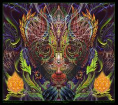 """Visionary Art Luke Brown """"Luke Brown is an intrepid explorer, part of a new generation of visionaries reconstructing the templates of culture as we know it. His art speaks of the spiritual my…"""