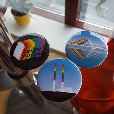 Just arrived #dublinpride #badges #gay Irish Pride, Dublin, Badges, Gay, Printed, Instagram Posts, Badge, Prints