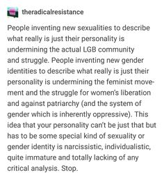 so damn true it's getting ridiculous! someone actually said they identify with this gender (forgot what it's called) but they're apparently only attracted to people who like science. tf