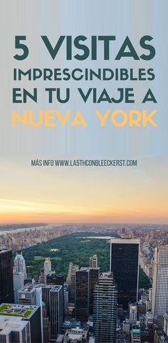 5 essential visits on your trip to New York- 5 visitas imprescindibles en tu viaje a Nueva York [LIST] The essential visits on your trip to New York. Peru Travel, Travel Usa, Travel Money, Travel Tips, New York 2017, San Diego Travel, Empire State Of Mind, New York Travel, New York Trip