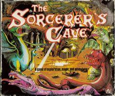 The Sorcerer's Cave http://boardgamegeek.com/boardgame/1202/the-sorcerers-cave