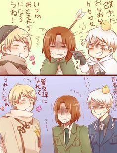 Lol,nothing change at all XD Lithuania Hetalia, Hetalia Russia, Bonde, Cute Stories, Vintage Cartoon, Axis Powers, Doujinshi, Me Me Me Anime, Really Cool Stuff