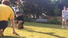 Capoeira Angola sequences and florieos
